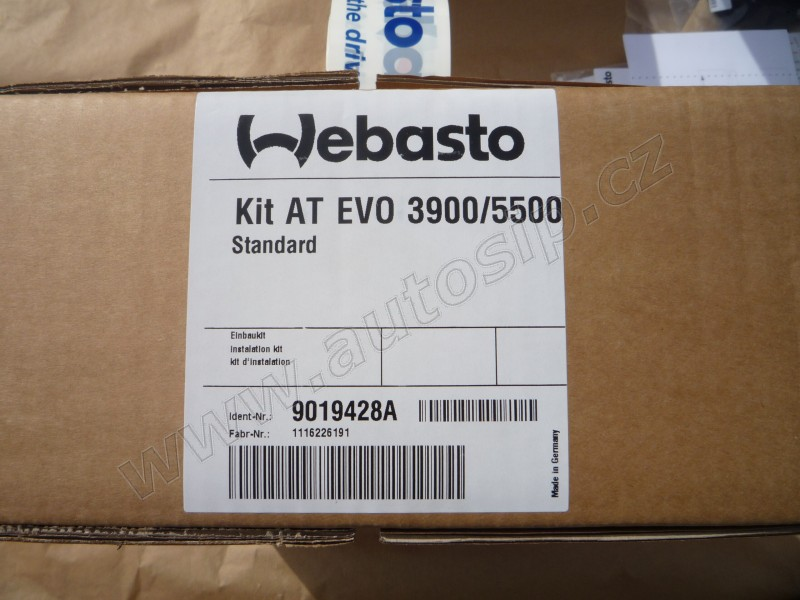 Zástavbová sada - Air Top EVO 3900/5500 Kit univerzal